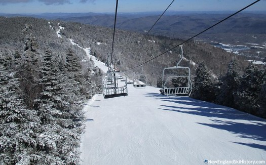 Killington will replace the North Ridge Triple Lift with a Quad Chairlift.