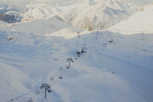 Les Deux Alpes, near to St Christoph-en-Oisans. Avalanche kills person in French Alps; another missing.