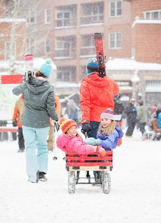 Kids dragged by their parents in Keystone, another of the first Vail Resorts. Photo: Andrew Maguire. Vail Resorts. Vail Resorts to Acquire Peak Resorts, Owner Of 17 U.S. Ski Areas.