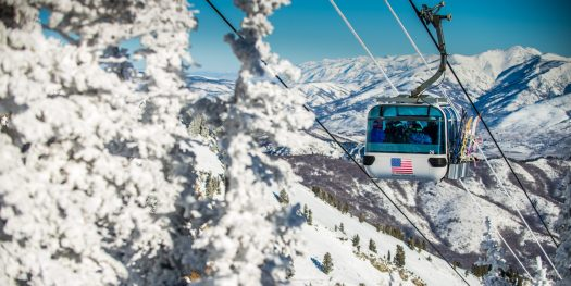 Snowbasin Gondola. Photo courtesy: Snowbasin Mountain Resort. Sun Valley and Snowbasin Join the Epic Pass.