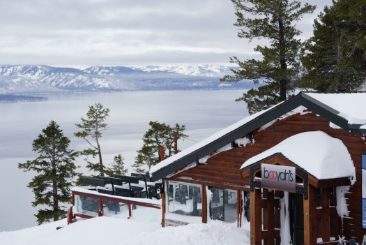 View of Lake Tahoe from the mountain. Photo: Heavenly Ski Resort. Elisabeth Biebl. Heavenly, Northstar, and Kirkwood Resorts Announce Extended Ski Season.
