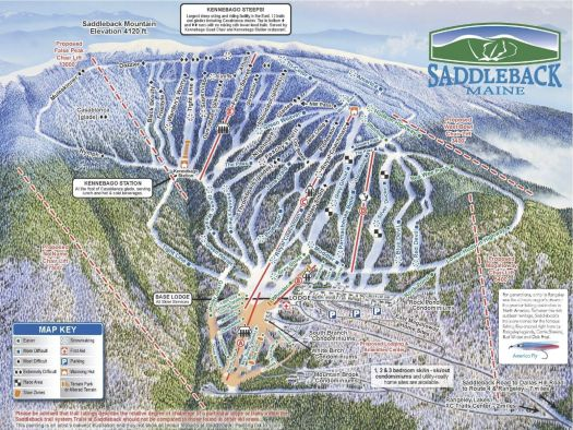 Saddleback ski area