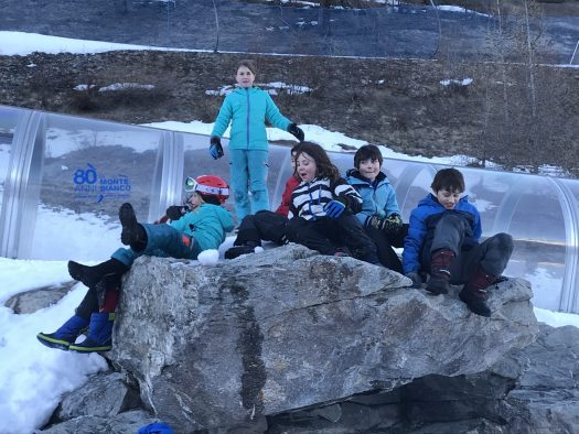 The kids having a great time at Plan Chècrouit. Photo: The-Ski-Guru. The Half Term Family Ski Holiday that did not result as planned.