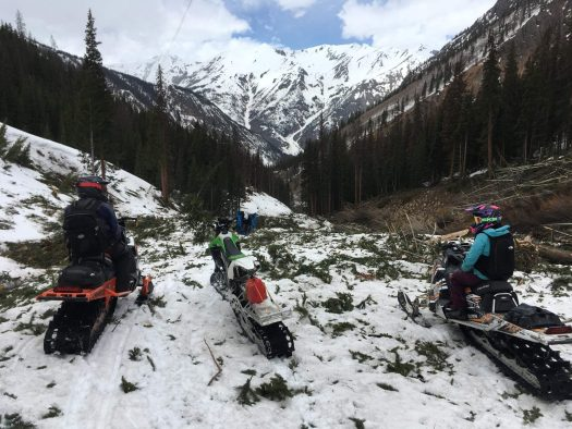 Silverton Officials are worried that ATV riders, hikers and mountain bikers will not be able to use the terrain until later in the summer. Photo: Rutsy Melcher. - Durango Herald. Due to a year of lots of avalanches, summer operations might be delayed as digging out will take time.