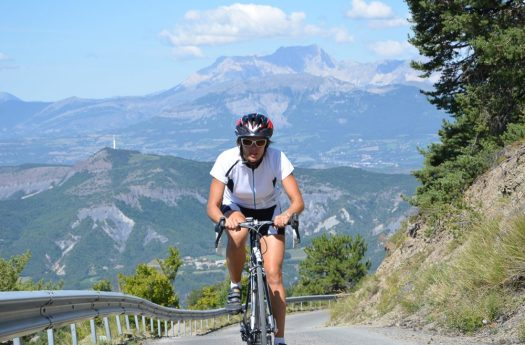 Road Cycling in the Alps. Photo: Undiscovered Alps. The Southern French Alps are the Best Part of the French Alps for Summer Activities.