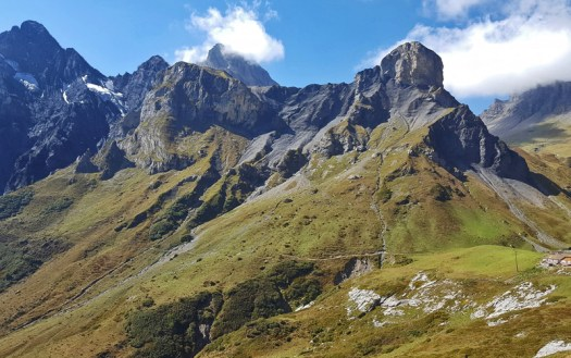 Via Alpina. A Hike for your Bucket List: The Via Alpina crosses 14 of the most beautiful Alpine Passes in Switzerland.