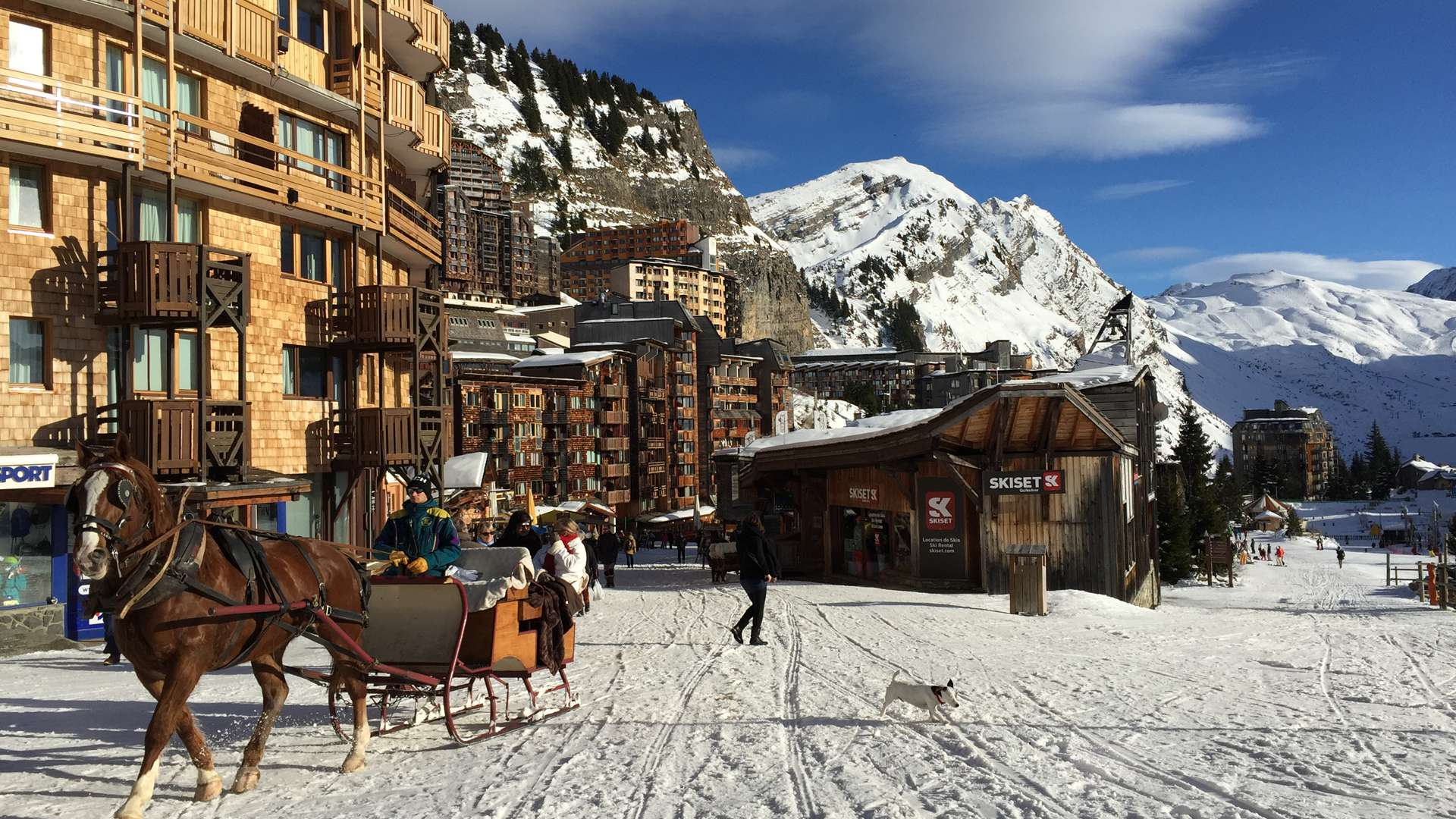 News lifts and piste for Portes du Soleil for the 2019-20 ski season. Avoriaz photo.