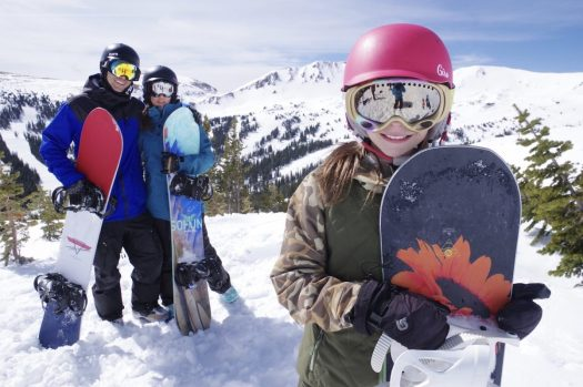 Loveland. Photo: Dustin Schaefer. A family enjoys the great outdoors. How can we envision ski resorts opening with social distancing for the 2020-21 ski season?