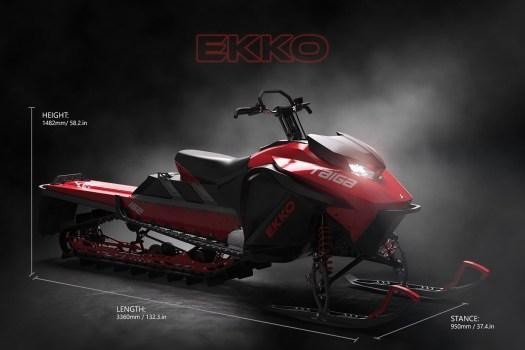 Taiga Motors Eikko specs. Photo: Taiga Motors.  Aspen Skiing Company Announces New Partnership with Taiga Motors
