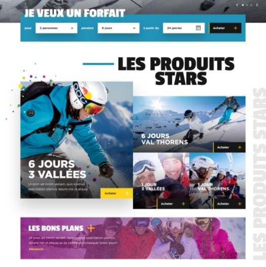 New website for Val Thorens' selling of lift tickets. Photo: OT Val Thorens.  What is new for Val Thorens for 2019/20.