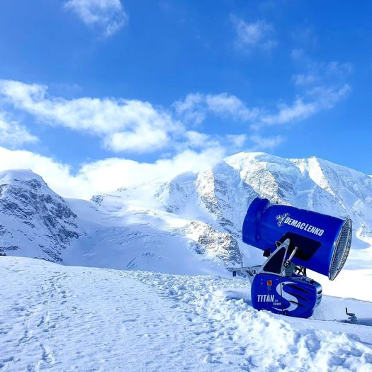 Demaclenko snow systems brings the snow to South America.