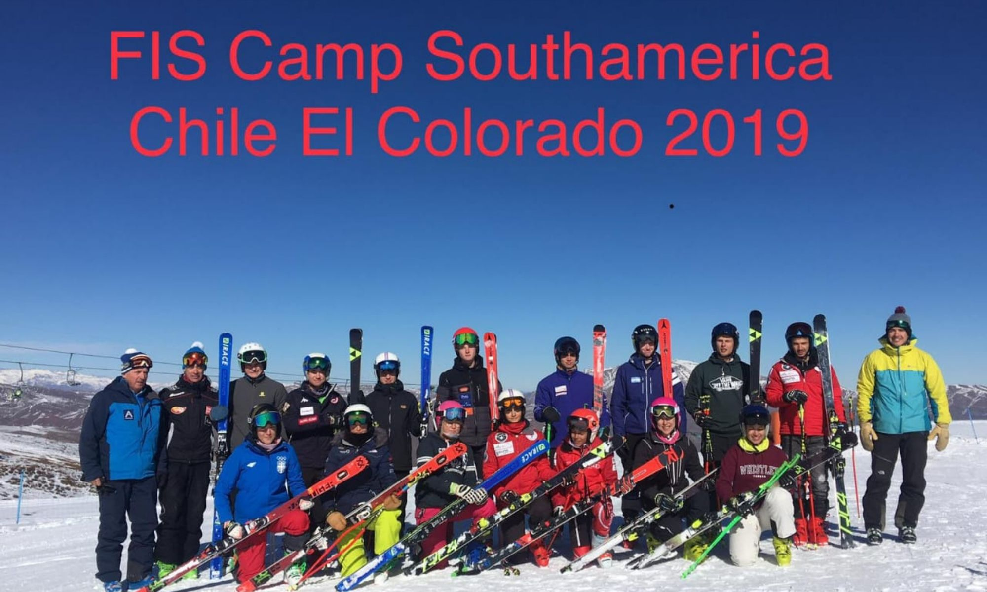 FIS CAMP- South America Chile July, 2019. Photo Courtesy: FIS Camp, Chino Martinez.