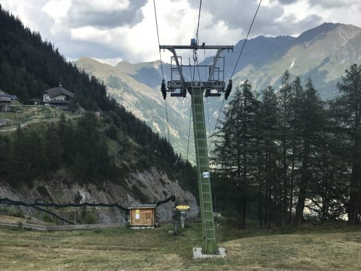 Summer in the mountains? Why not? The look from Plan Chécrouit in Courmayeur. Photo: The-Ski-Guru. Our summer in the mountains – one week in Courmayeur.