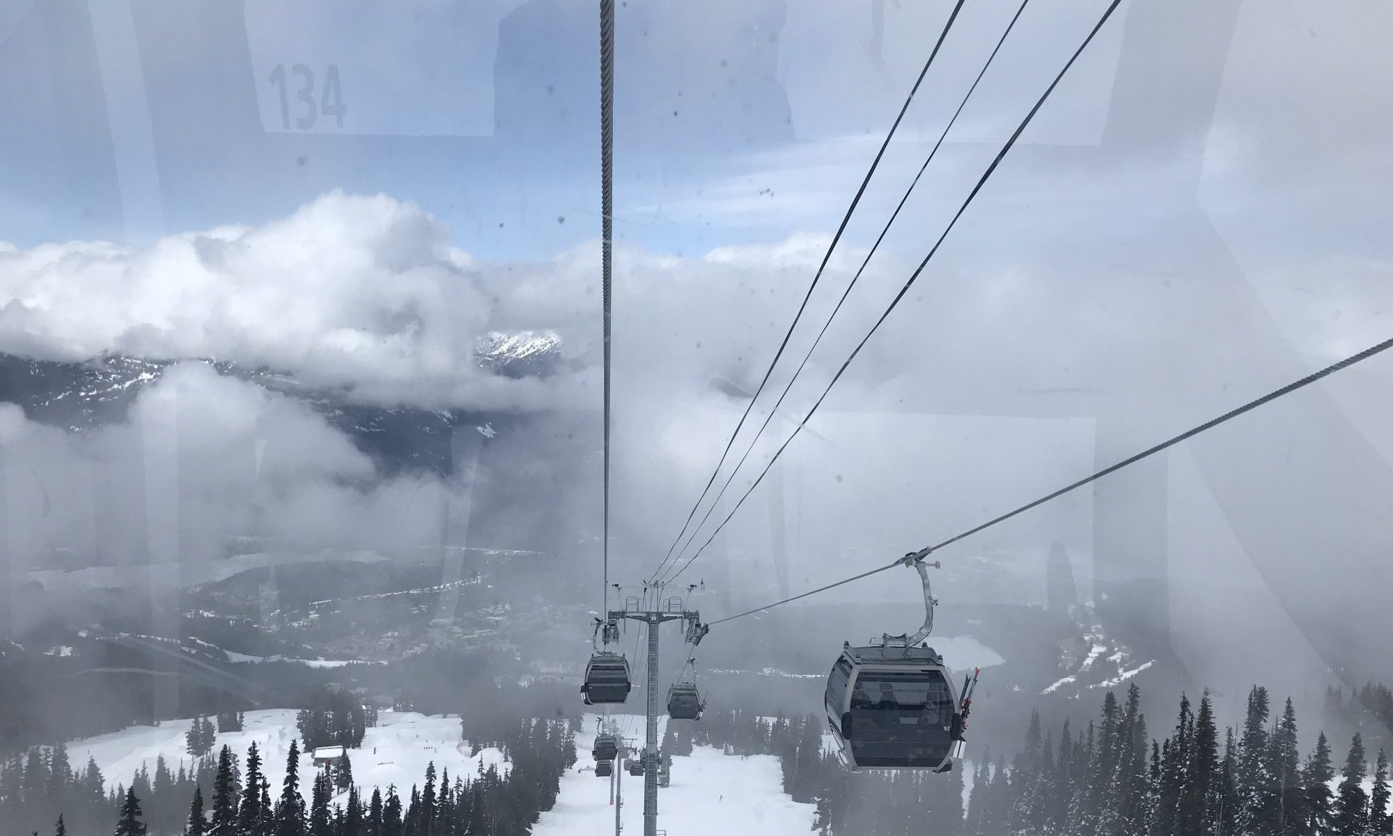 Peak 2 Peak Gondola in Whistler Blackcomb. Photo: The-Ski-Guru. Different types of lifts on resorts (I can think of) and how to ride them.