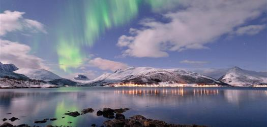UCPA Norway ski touring- Northern Lights. Not for profit organisation UCPA launches new ski touring week in Norway
