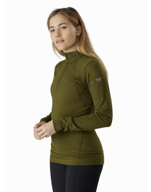 Rho LT Zip Neck for Women. Gear Review: Arc'teryx's base layers for the season.