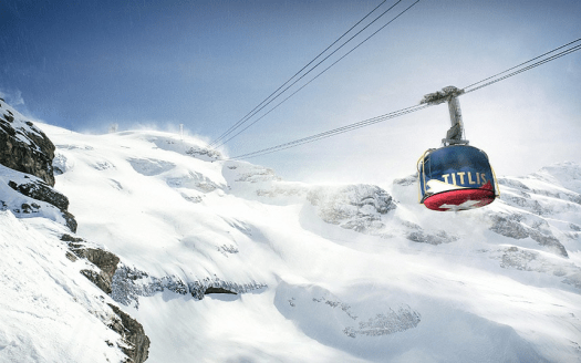 The Titlis Rotair in Engelberg. Pretty much the same as the Skyway, a rotating cable car. Different types of lifts on resorts (I can think of) and how to ride them.