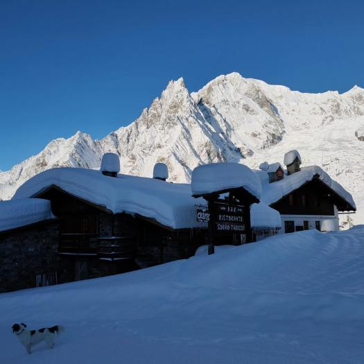 Prè-de-Pascal. A Foodie Guide to on-Mountain Dining in Courmayeur.