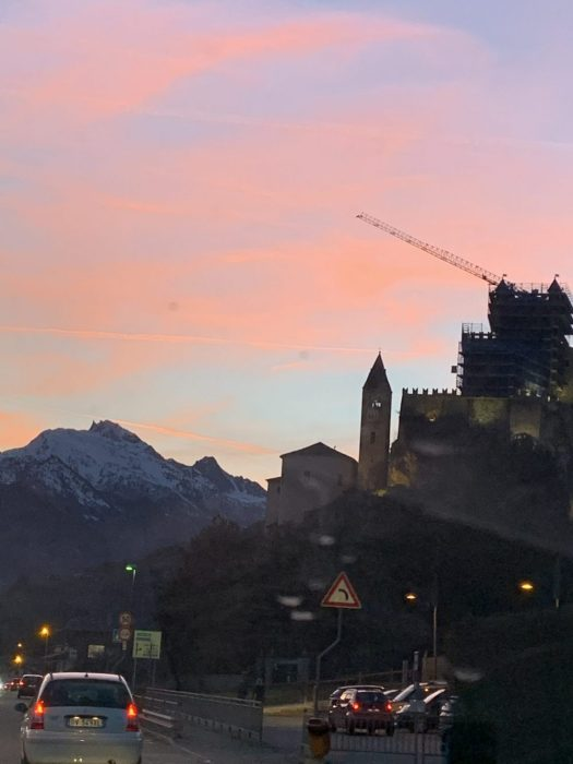 Coming back from Aosta. Our half term ski-safari holiday based in the Valdigne of Aosta Valley- Courmayeur, Pila and La Thuile.