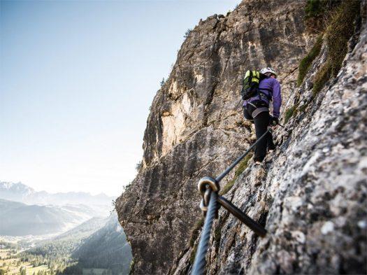Via Ferrata Tridentina. Photo: Alta Badia brand by Alex Moling- Corvara/Colfosco. A Must-Read Guide to Summer in South Tyrol.