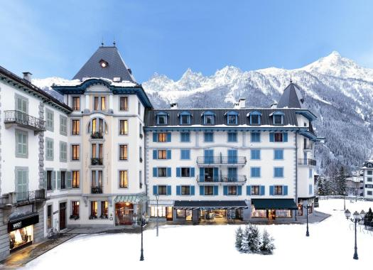 Exterior of the Grand Hôtel des Alpes. Book your stay at the Grand Hôtel des Alpes here. Must-Read Guide to Chamonix.