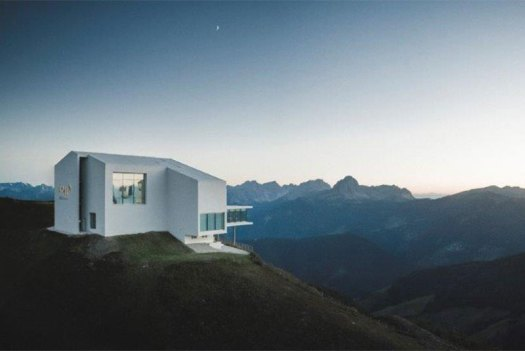 Exterior of the Lumen Museum, the newest museum addition in the top of the mountain of Kronplatz, otherwise known as Plan de Corones. Photo: Lumen. A Must-Read Guide to Summer in South Tyrol.