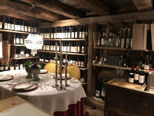Have a private dinner at the cellar of La Perla. Book your stay at the Hotel La Perla here. Planning your summer in the mountains of Alta Badia.