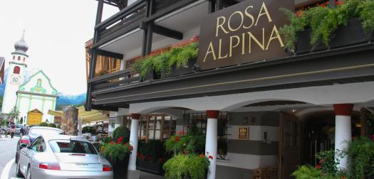 Hotel Rosa Alpina in the center of San Cassiano. Book your stay at the Rosa Alpina here. Planning your summer in the mountains of Alta Badia.