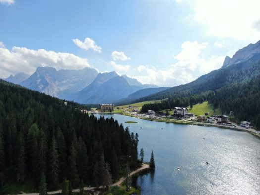 Lago Misurina. Credits: Pietro Albarelli. Cortina Dolomiti Ultra Trekking.
