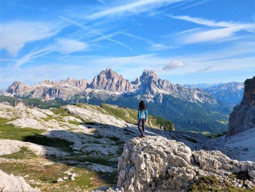 Giau Croda da Lago. Credits: Cortina Marketing. Cortina Dolomiti Ultra Trekking.