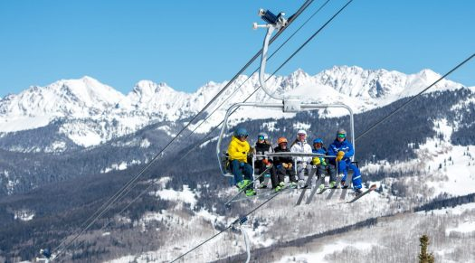 Family Ski School Instruction in Vail, CO. Photo: Jack Affleck. Vail Resorts. The Must-Read Guide to Vail.