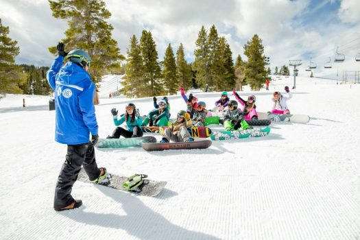 Kids Snowboard School at Vail, CO. Photo: Daniel Milchev. Vail Resorts. The Must-Read Guide to Vail.