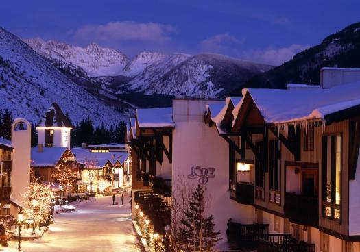 Exterior of the Lodge at Vail, a RockResort. The Must-Read Guide to Vail. Book your stay at the Lodge at Vail here.