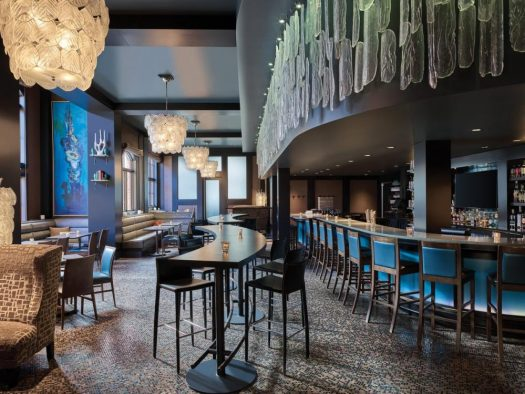 The bar at the Sebastian. The Must-Read Guide to Vail. Book at your stay at the Sebastian here.