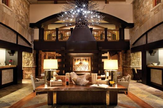 The lobby at the Sebastian. The Must-Read Guide to Vail. Book your stay at the Sebastian here.