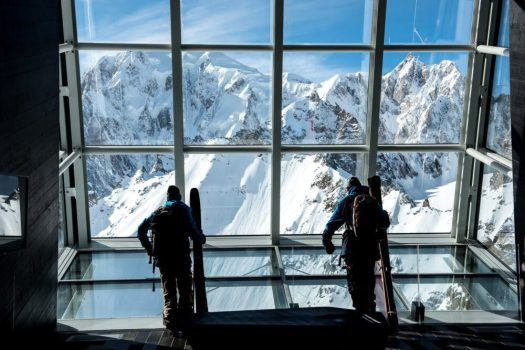 The views from Skyway Monte Bianco are amazing, wherever you look. You are on the roof of Europe! Skyway Monte Bianco. Courmayeur Mont Blanc announces new sustainability strategy to 'save the glacier'.