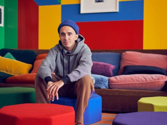 Ramdane Touhami portrait for smalltalk