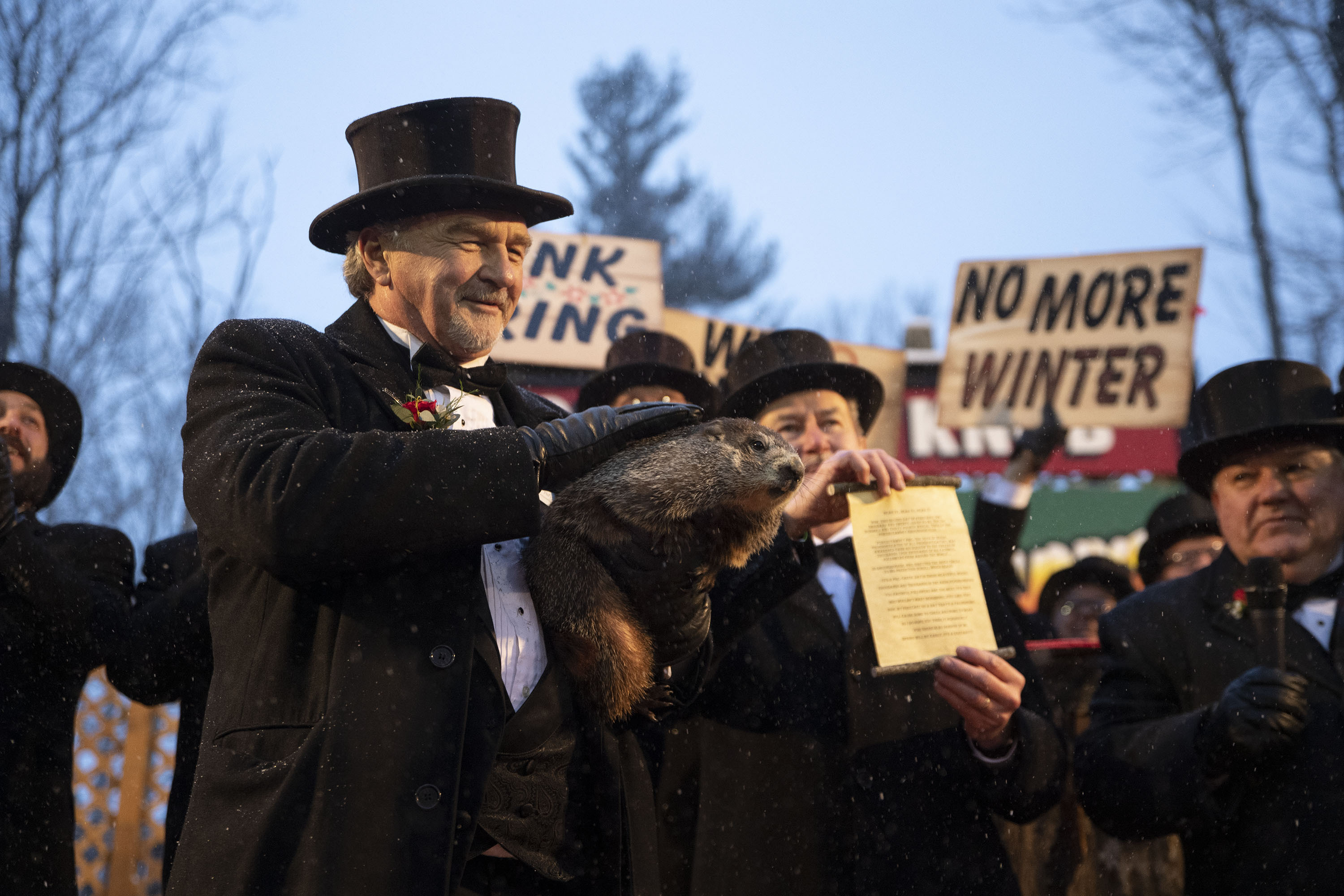 Groundhog Day S Punxsutawney Phil Predicts An Early Spring