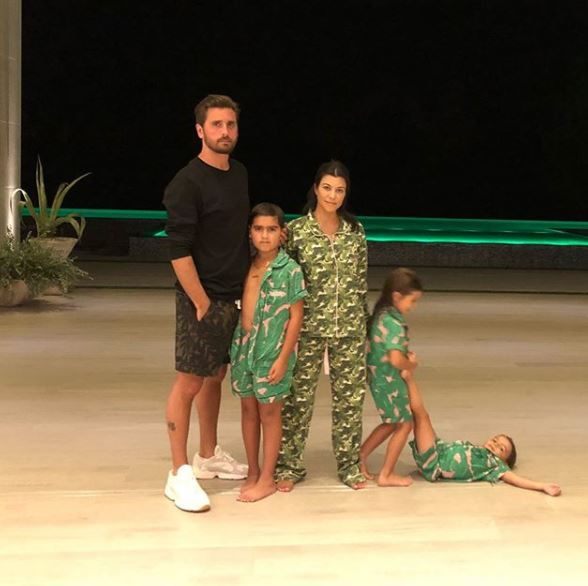 She is the mother of three with her ex Scott Disick