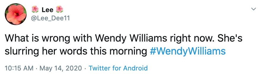 Fans thought Wendy was