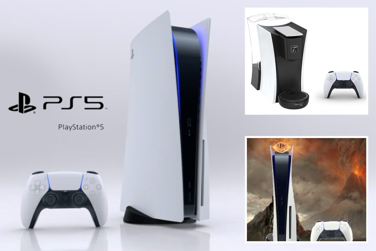 Hilarious Ps5 Design Memes From The Eye Of Sauron To A Gaming