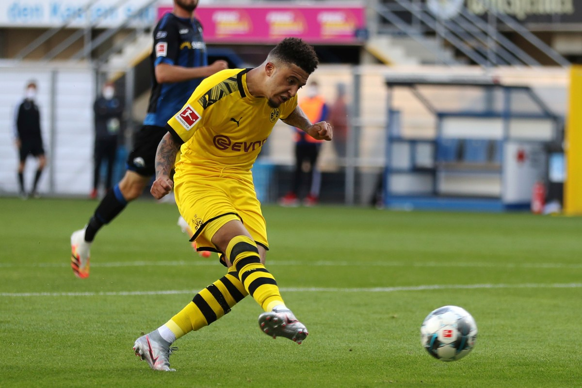 Sancho's 35-minute hat-trick not legitimate in Germany due to strange rule
