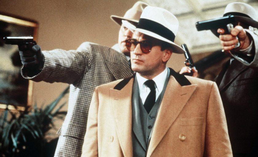 De Niro as Al Capone in The Untouchables