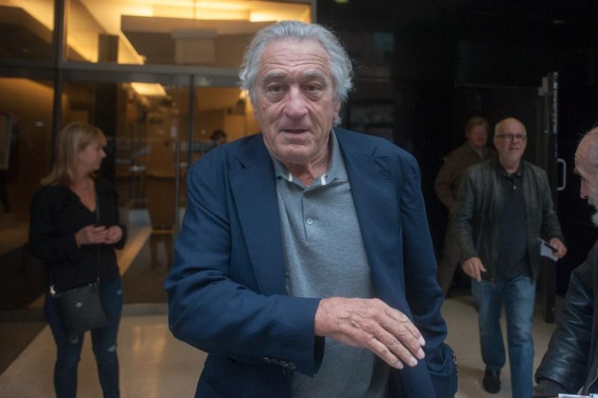 Robert De Niro attends a screening of The Irishman in New York City in 2019