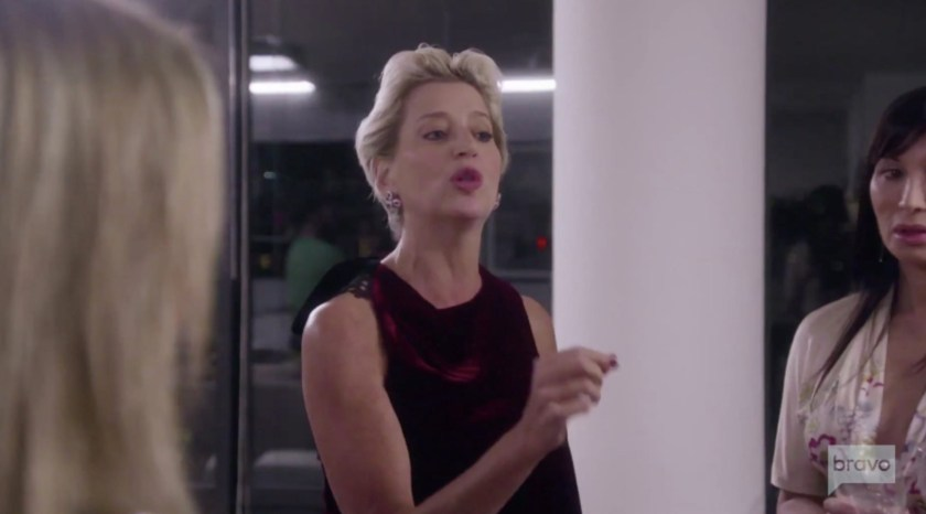 Real Housewives of New York star Dorinda Medley shaded Ramona Singer about getting tested for coronavirus