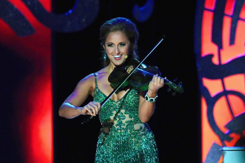She is also a fiddle player