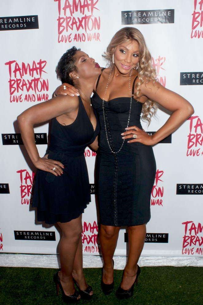 Tamar is Toni Braxton's younger sister