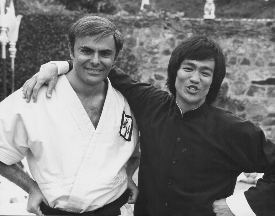 He starred with Bruce Lee in the 1973 film Enter the Dragon
