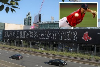 Boston Red Sox Unveil Huge Black Lives Matter Mural Next to Fenway Park Ahead of MLB Opening Day