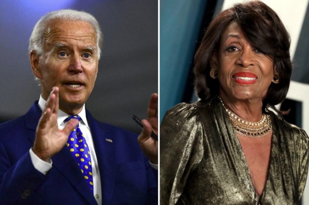 VIDEO: Joe Biden Confuses Maxine Waters For Val Demmings…